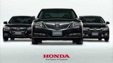 Honda/EARTH DREAMS セダンシリーズ
